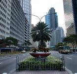 Ayala Triangle and Ayala Avenue