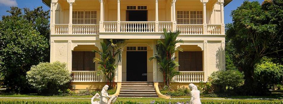 The Gaston Mansion (Hacienda Rosalia) and The Chapel of the Cartwheels