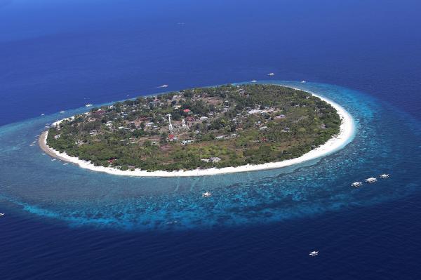 Touring Bohol: Balicasag Island Marine Sanctuary