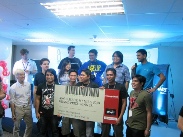 Pagesnapp Won the AngelHack MNL 2013