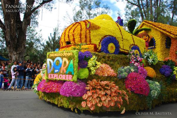 Panagbenga festival Philippines 2015