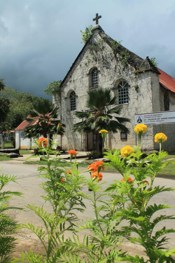 Saint Francis De Assisi Church in Siquijor