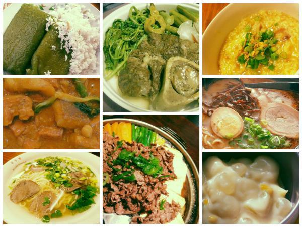 Ten  Restaurants to have your Rainy Day Comfort Foods