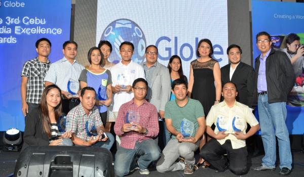 Globe announces winners of 3rd Cebu Media Excellence Awards