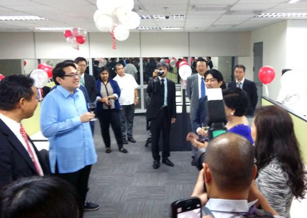 Newest BPO, IT Company from Japan launches PHL operations