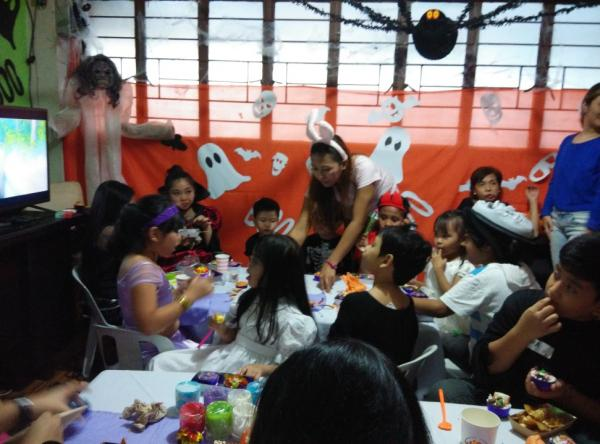 Wicked Weekend Kid's Halloween Party at Toptea