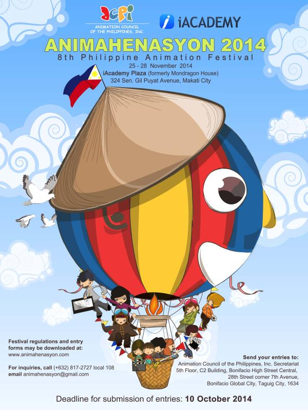 Animahenasyon Philippine Animation Festival 2014