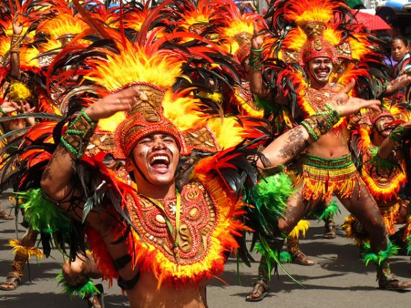 The Revelry of the Dinagyang Festival of Iloilo