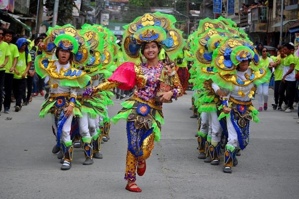 DANCING AND PRANCING ON THE STREETS OF CATBALOGAN