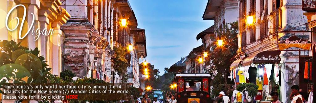 vigan seven wonders cities