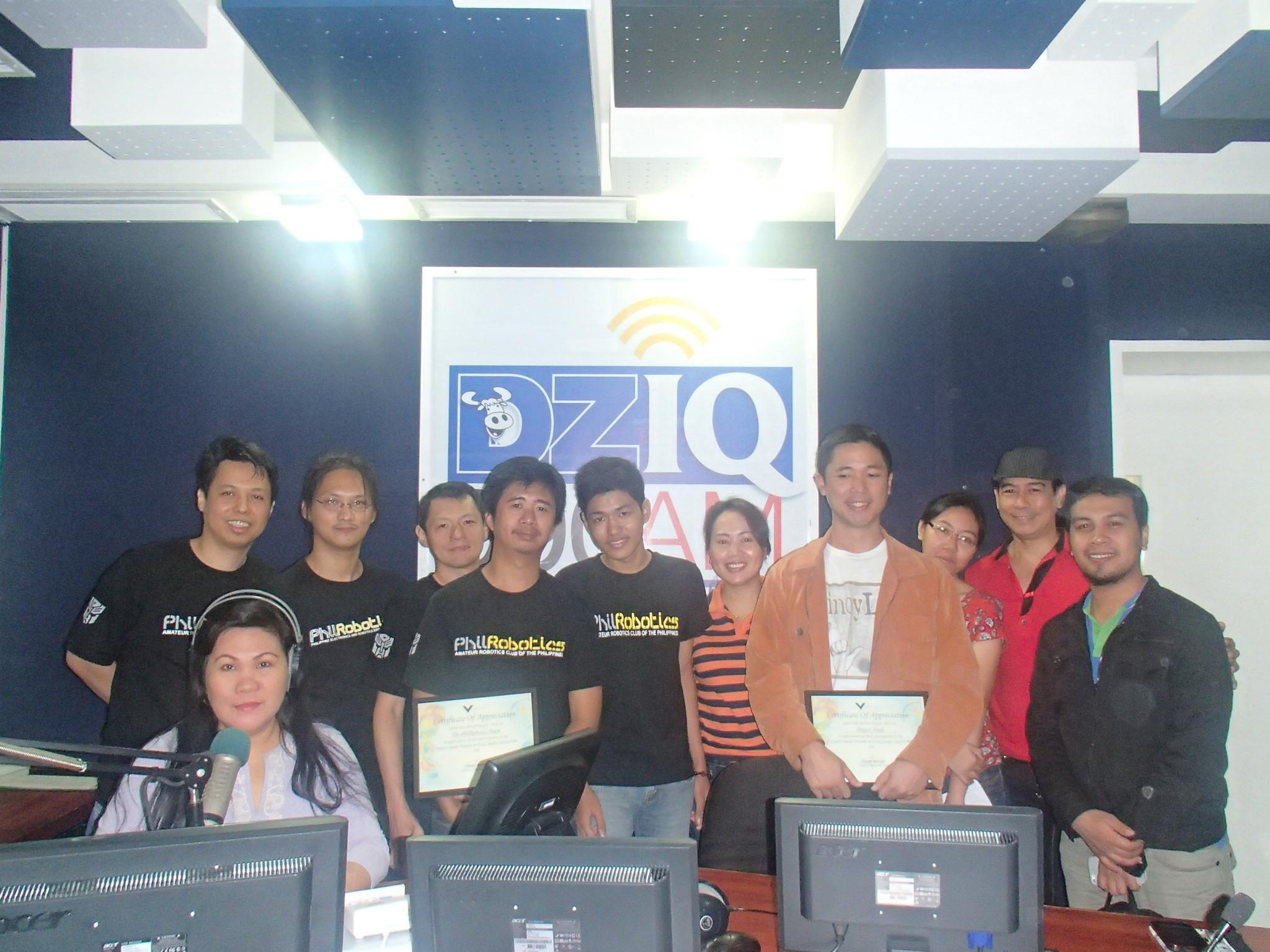 Vigattin Radio with Project NOAH and PhilRobotics