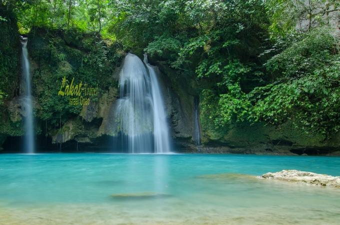 The Spectacular Kawasan Falls Of Cebu