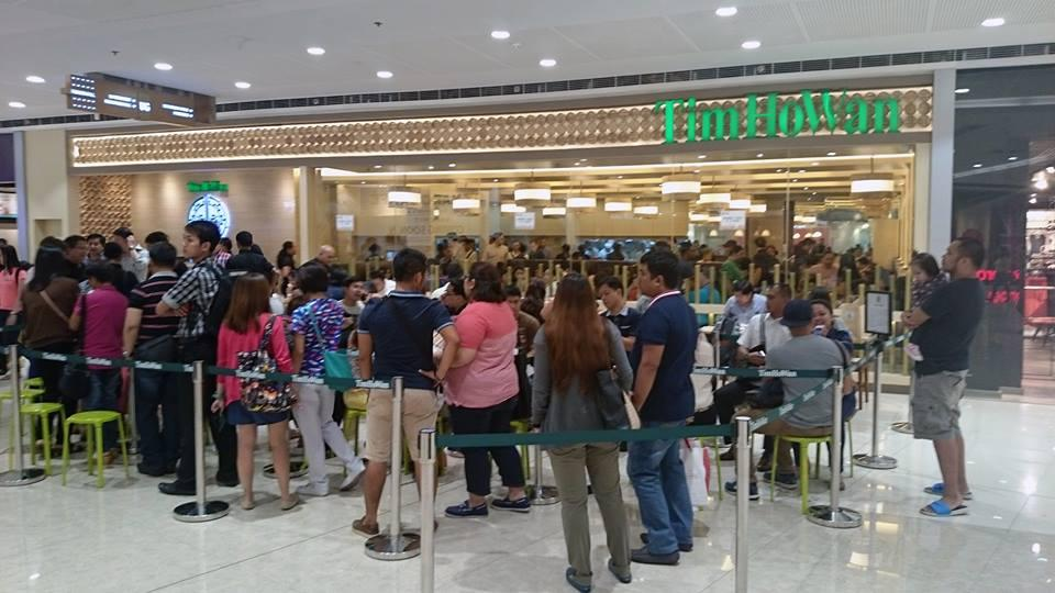 World's Cheapest Michelin-starred restaurant Tim Ho Wan now in the Philippines